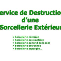 destruction sorcellerie