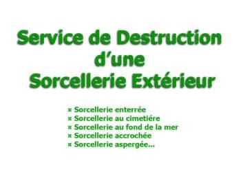 destruction sorcellerie