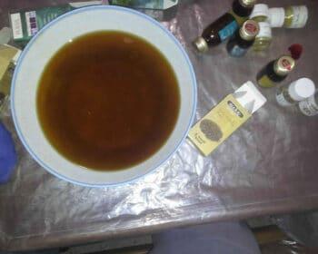 mélange huiles preuve